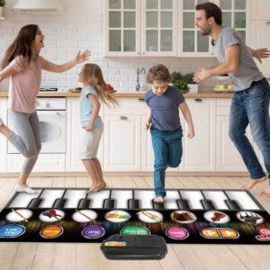 Klavirska podloga, otroški klavirski instrument, družinska igra