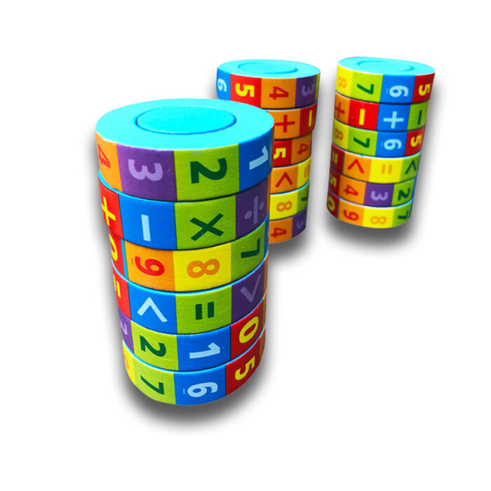 "Računam do 100, izobraževalna igrača ""Play Cube"""