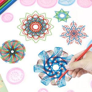 Ustvarjalno risalno pisalo + DIY Spirograph Magic Ruler Toys