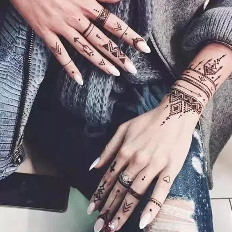 """Art pisalo """"Art Body"""", Indijska risalna pasta za tatoo"""