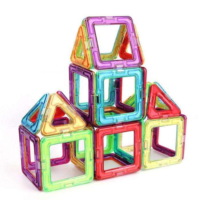3D Ustvarjalne ploščice iz magnetnih gradnikov