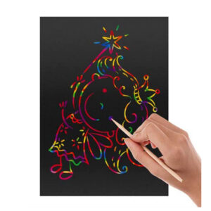 50 listov Scratch Art za otroke 3