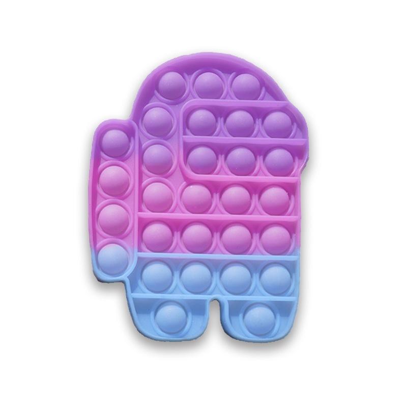"""Pop It Fidget """"Among Us Pop Bubble Lum"""", senzorična igrača za otroke"""
