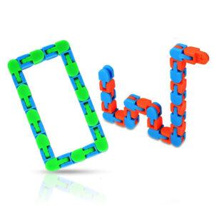 Antistresna igrače za otroke Wacky Tracks Sensory Fidget Toy, 2.kosa