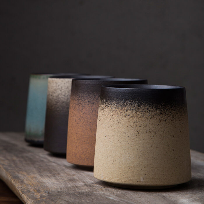 Japonski keramični lonček za čaj z logotipom po meri