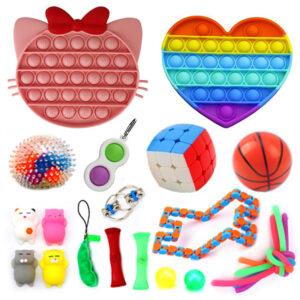 Fidget Toys SET 2, Zabavne antistresne igrače za otroke