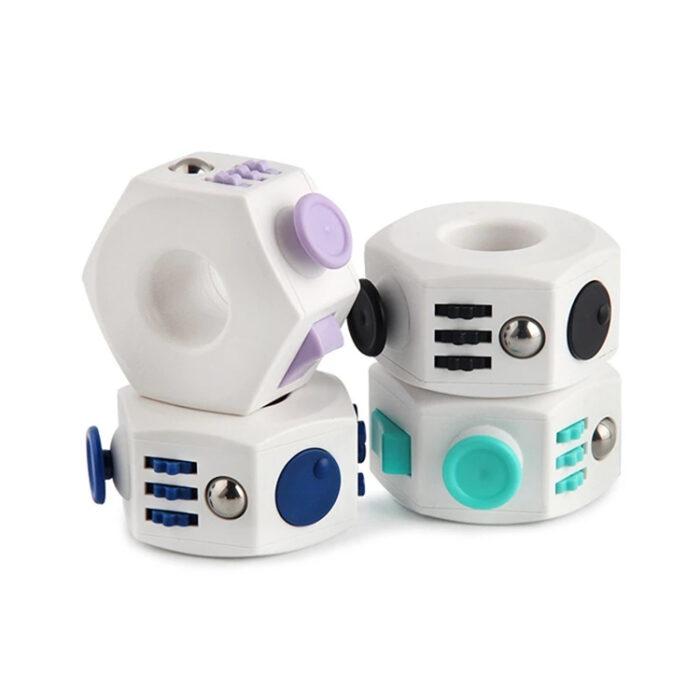 Ring Fidget Čarobna kocka proti stresu
