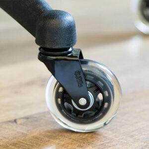 Set silikonskih kolesc za pisarniške stole