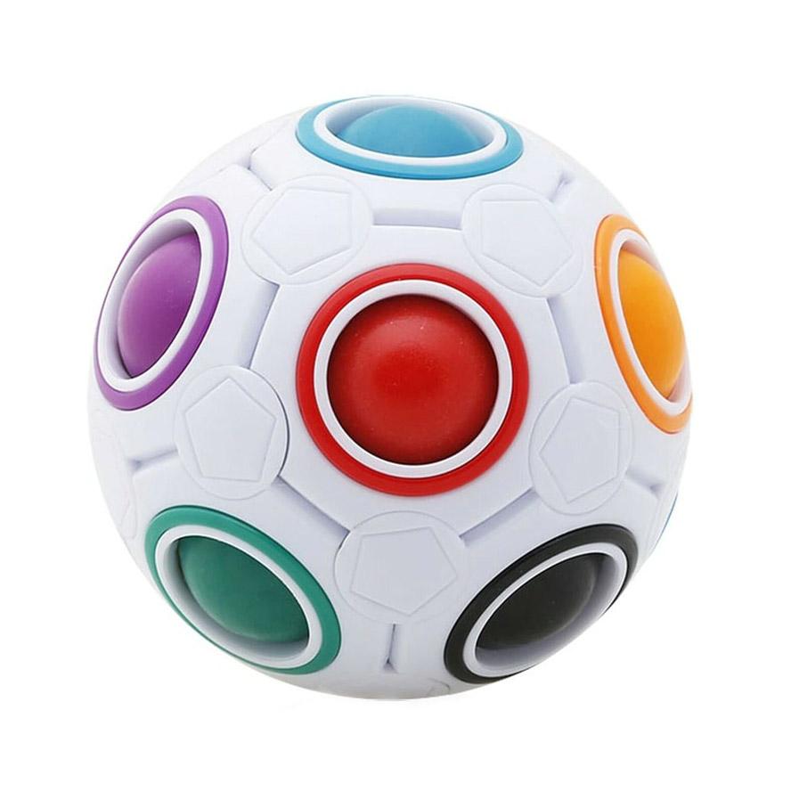 "Fidget Mavrična kroglica Antistresna igrača ""Street Ball"""