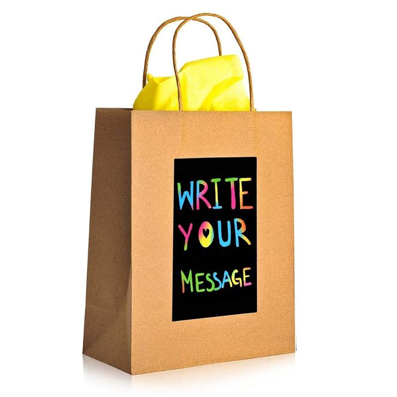 """Darilna vrečka NimNik """"Scratch Art"""" Dodaj sporočilo"""