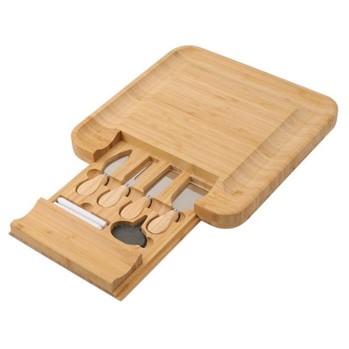 Plošča za rezanje sira, 100% bambus