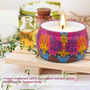Aromatic Romantic Candle2 sveča iz naravnega sojinega voska