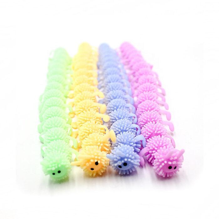 """Monkey Noodle """"Caterpillar"""" Fidget Raztegljiva senzorična igrača za lajšanje stresa"""