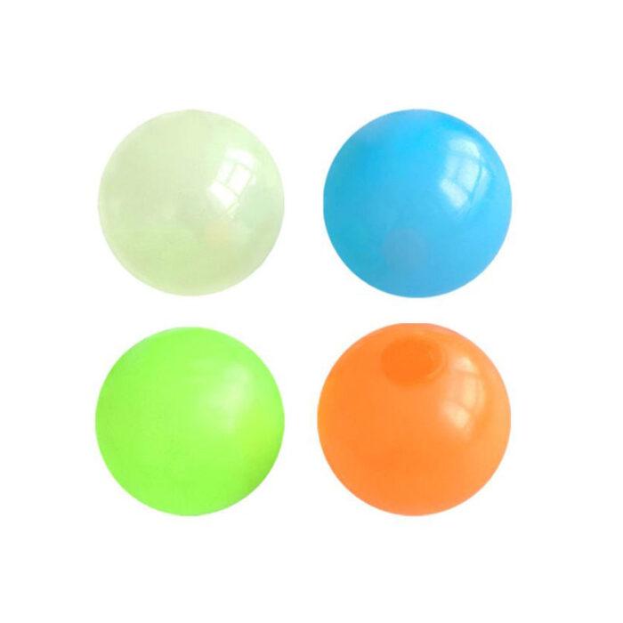 Globbles Sticky Ball Fidget Antistresna igrača za otroke