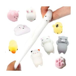 Mochi Squishy Fidget Izobraževalna igrača v obliki živali