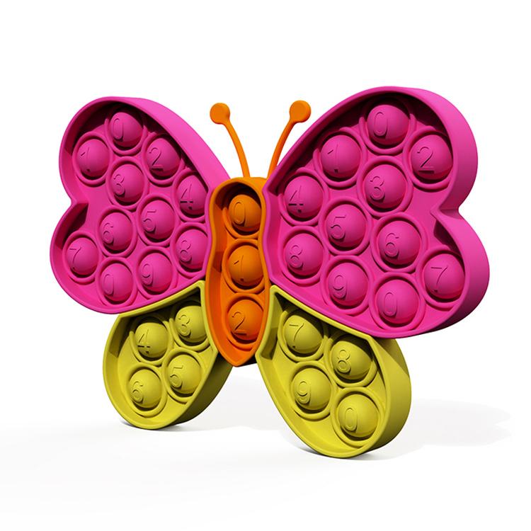 "Pop it silikonska igrača pop puzzle ""Bubble Butterfly "" za otroke"