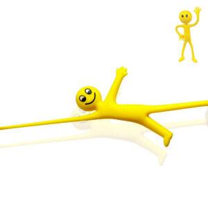 Stretchy Smiley Sticky Man Fidget Raztegljiva igrača za otroke