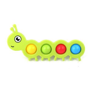 Dimple Bubble Fidget Gosenica/ Pika, Antistresna senzorična igrača
