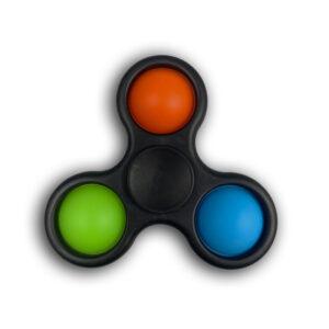 Simple dimple bubble Fidget Finger Spinner antistresna igrača