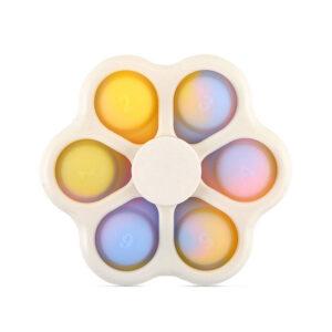Dimple Spinner 6 Bubble Fidget, Antistresna igrača