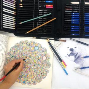 Svinčniki za risanje in senčenje