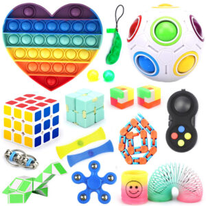 Fidget Toys SET 5, Zabavne antistresne igrače za otroke