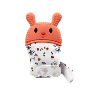 Grizalo rokavička za dojenčka