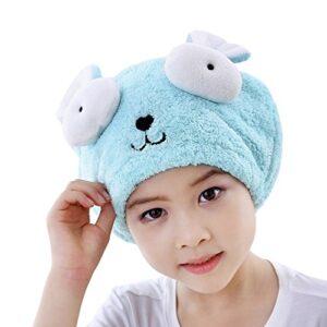 Otroška vpojna brisača/kapa za hitrejše sušenje las, microfiber
