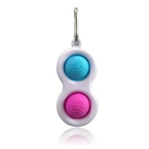 Simple Dimple Pop Fidget Sensory, Antistresna senzorična igrača/ obesek