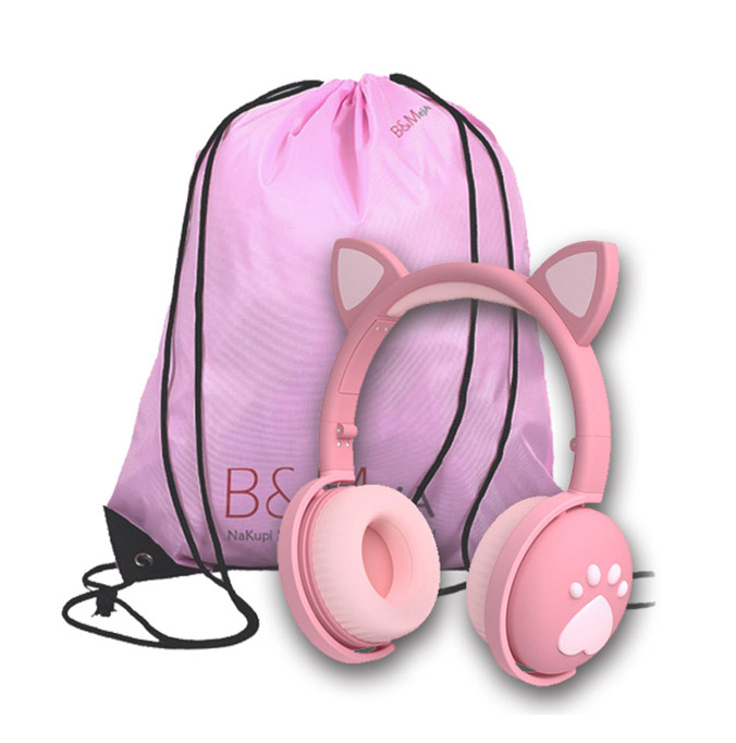 "Odlično darilo Dinamične brezžične slušalke ""Color Cat2"" + vreča/ ka"