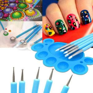 """Komplet za ustvarjanje """"Painting Tool Kits Mandala"""", nabor pikčastih orodij za slikanje"""