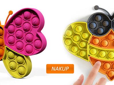 Pop it silikonska igrača pop puzzle B&B