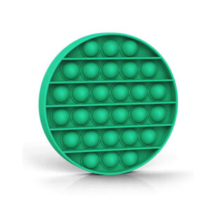 Fidget Pop it Push Bubble antistres senzorična igrača zelen krog