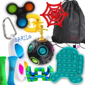 """Igrače za otroke """"Fidget Toys"""" SET BOY + darilo"""