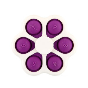 Sensory Pop Spinner 6 Bubble Fidget, Antistresna igrača