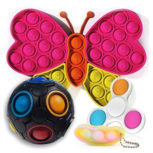 BrezMeja | Odlično darilo | Fidget antistresne igrače za otroke | Fidget toy