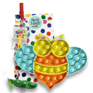 "Odlično darilo za otroka Pop It Puzzle ""Bee Bubble"", Pretty Things Inside"