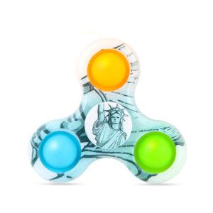Dimple Spinner 3C Bubble Fidget, Antistresna igrača