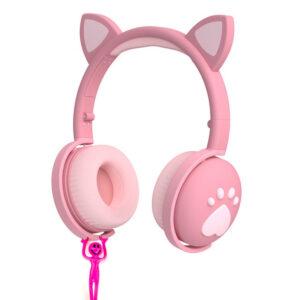 Dinamične brezžične naglavne slušalke za otroke