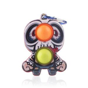 Dimple Push Bubble Halloween Fidget, Antistresna senzorična igrača/ obesek