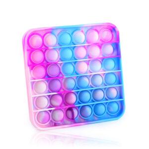 """Pop It Fidget Pop Bubble """"Pisan kvadrat"""", senzorična igrača za otroke"""